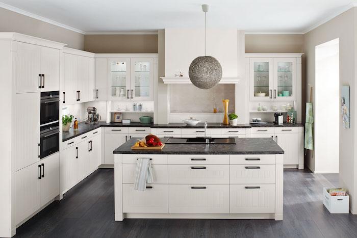 landhausküche ikea küchenzeile l form ikea schwarz arbeitsplatte einbau