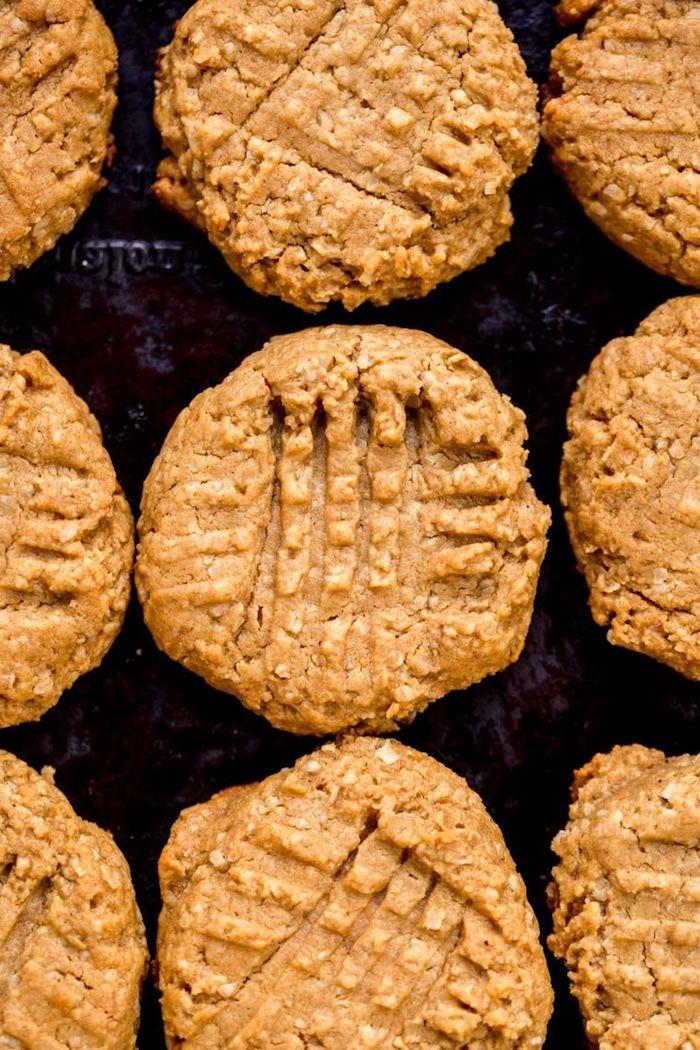 leckere gerichte zum abnehmen köstliche erdnussbutter honig kekse schnelle rezepte für desserts nachtisch ideen