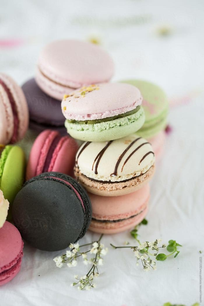 macarons rezept füllung creme für makaronen selber machen essen für gäste