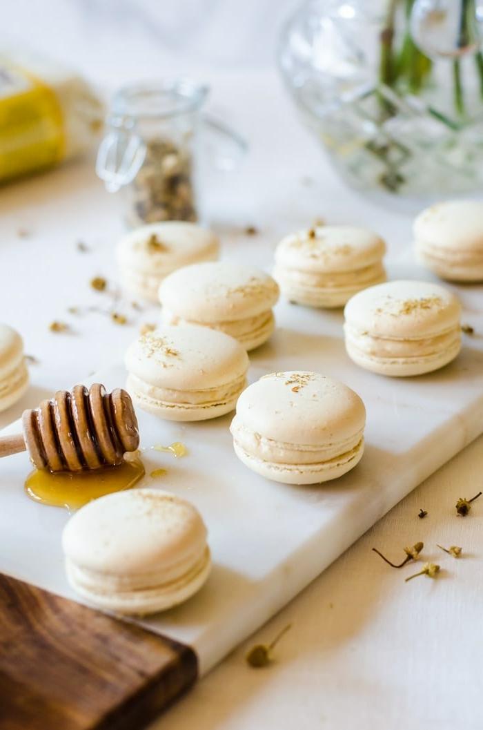 macarons rezept füllung leckere makaronen mit honig und vanille schritt für schritt zubereitung