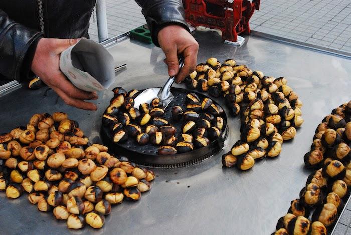 maronen im backofen zubereiten kastanie auf der straße kaufen türkei