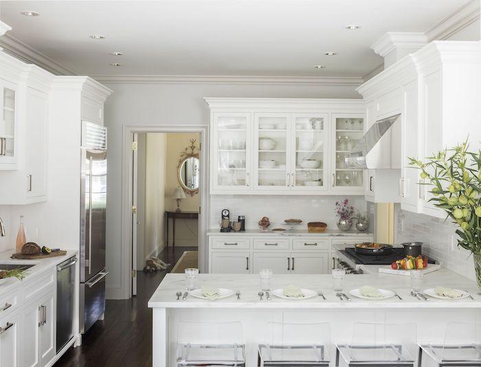 moderne küchen u form kleine küche inspiration weiß einbauküche