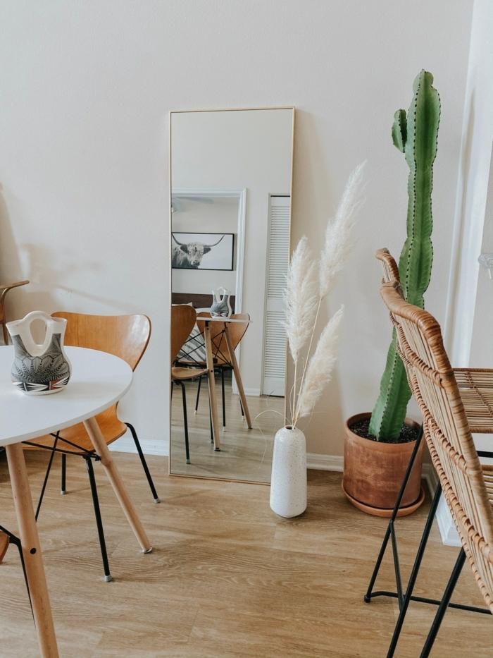 pampasgras deko bestellen weiße vase mit trockengras wohnung dekorieren wohnungsdeko fotos