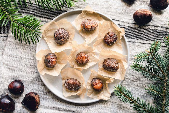 rezepte mit kastanien maronen kaufen und kochen ideen im ofen backen