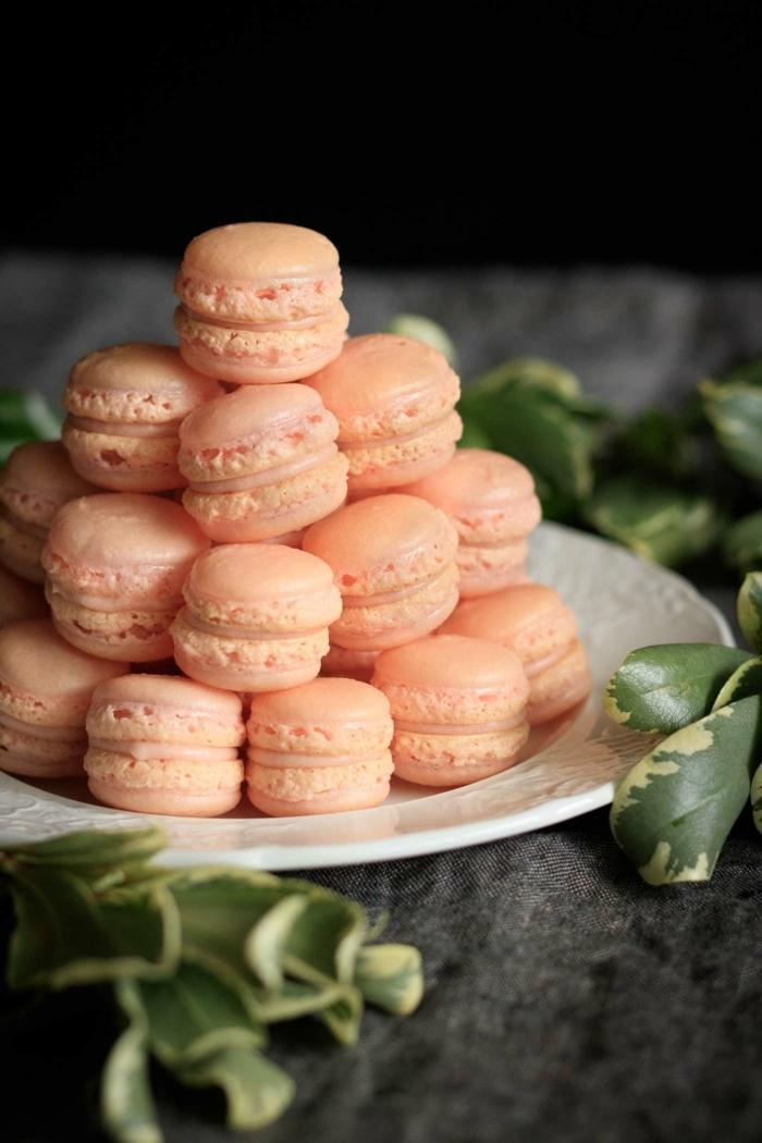 was sind macarons essen für göste partyfood ideen fingerfood kleine gebäcke mit füllung
