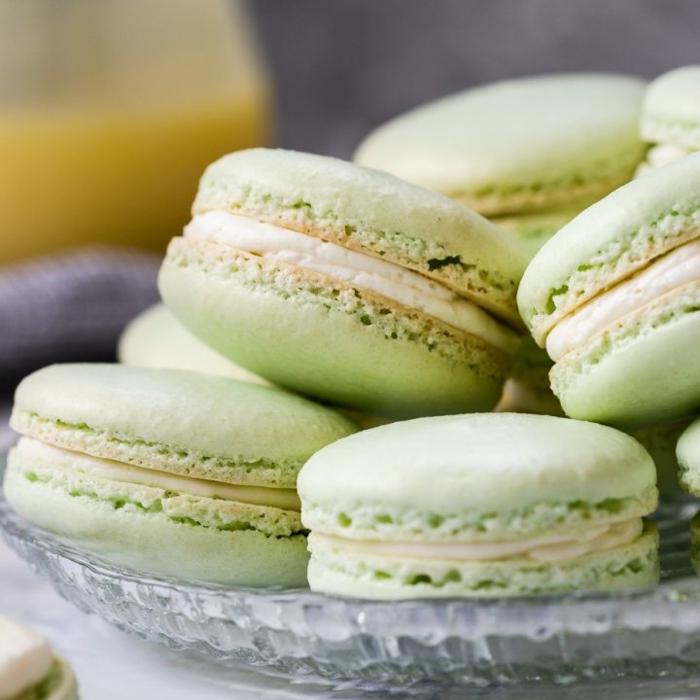was sind macarons makaronen selber backen key lime rezepte zum backen gebäcke mit limetten