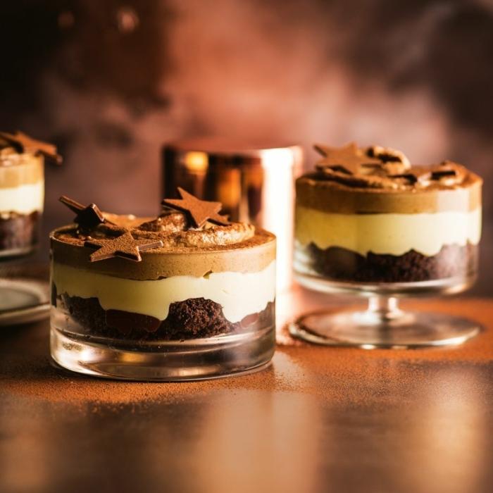 0 weihnachtsdessert im glas nachtisch zu weihanchten leckere desserts weihnachtskuchen kuchen parfait rezept