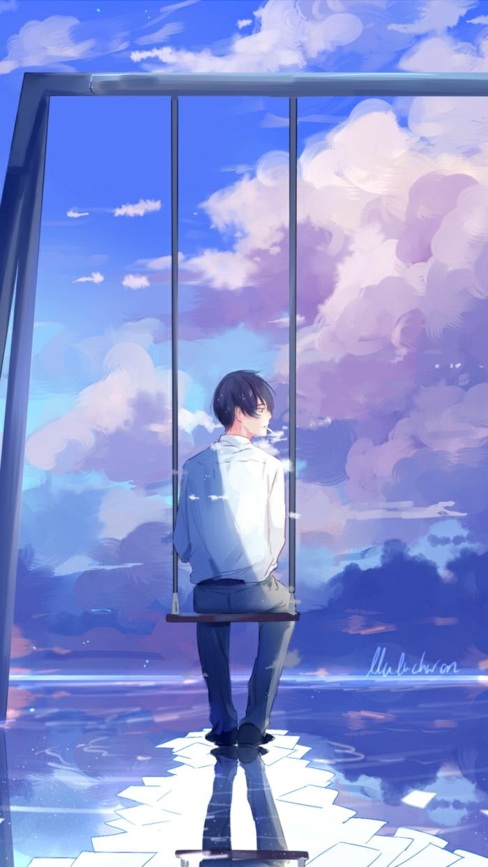 159 1591271 reflection cloud boys creative arts art hd wallpaper