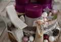 Adventskranz mit Holzscheiben selber machen – Vorbereitung auf Weihnachten