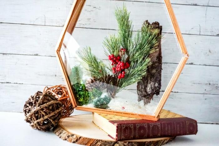 bastelideen für weihnachten zum verschenken festliche dekoration diy deko für den winter winterdeko selbstgemacht
