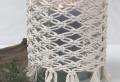 Makramee Windlicht – eine uralte Kunst für das moderne Zuhause