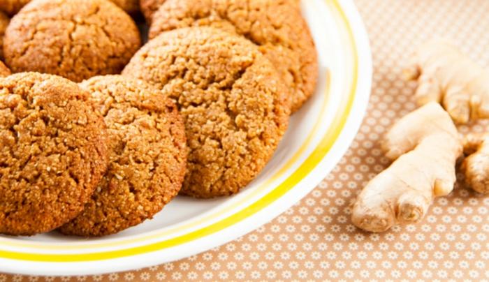gesunde kekse zum abnehmen ingwer honig kekse mehl