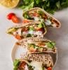 gesundes abendbrot ideen eine stulle mit petersilie käse und frischen tomaten