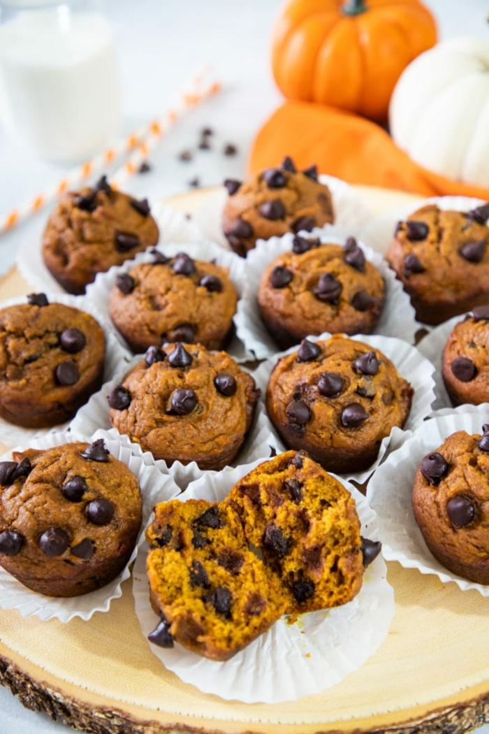 kürbis low carb muffins selber machen rezept zwölf muffins