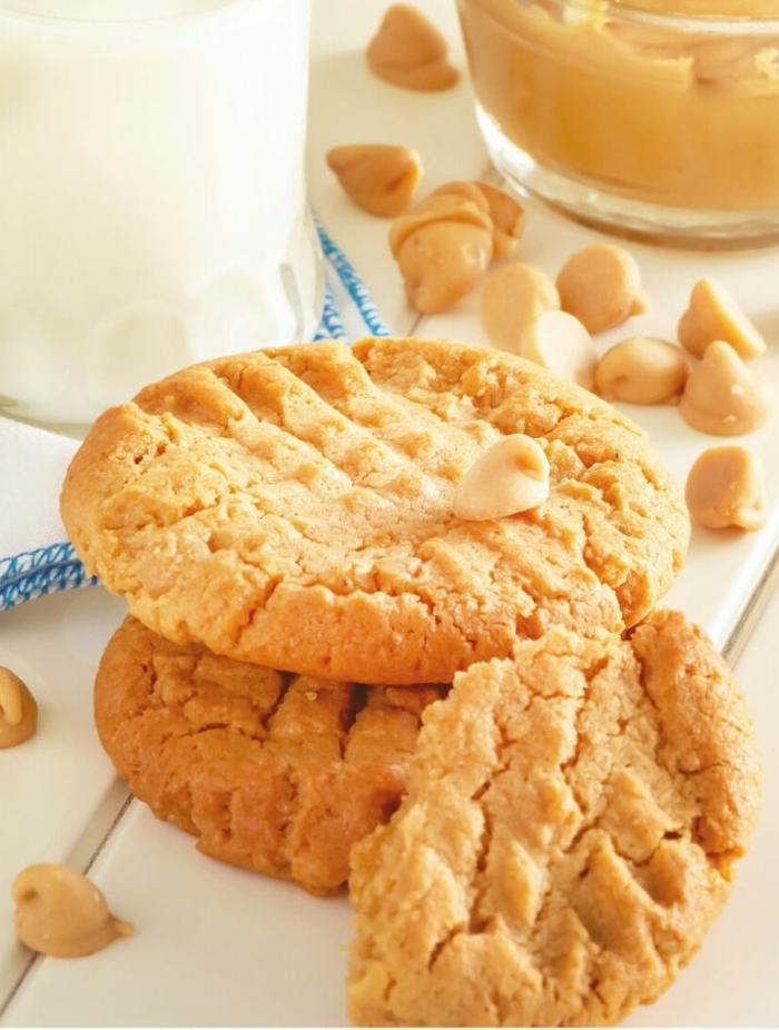 keto cookies erdnüsse butter mit zucker einfache low carb kekse zubereiten