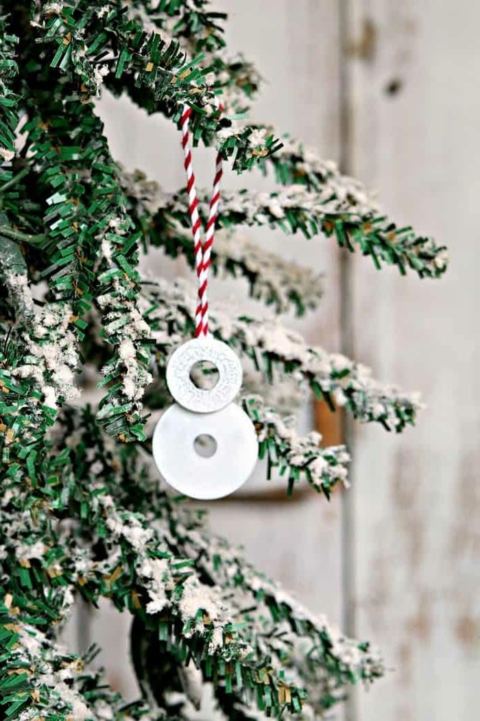 kleiner weihnachtsmann ornament aus edelstahl weihnachtsbaum dekorieren ideen und inspiration