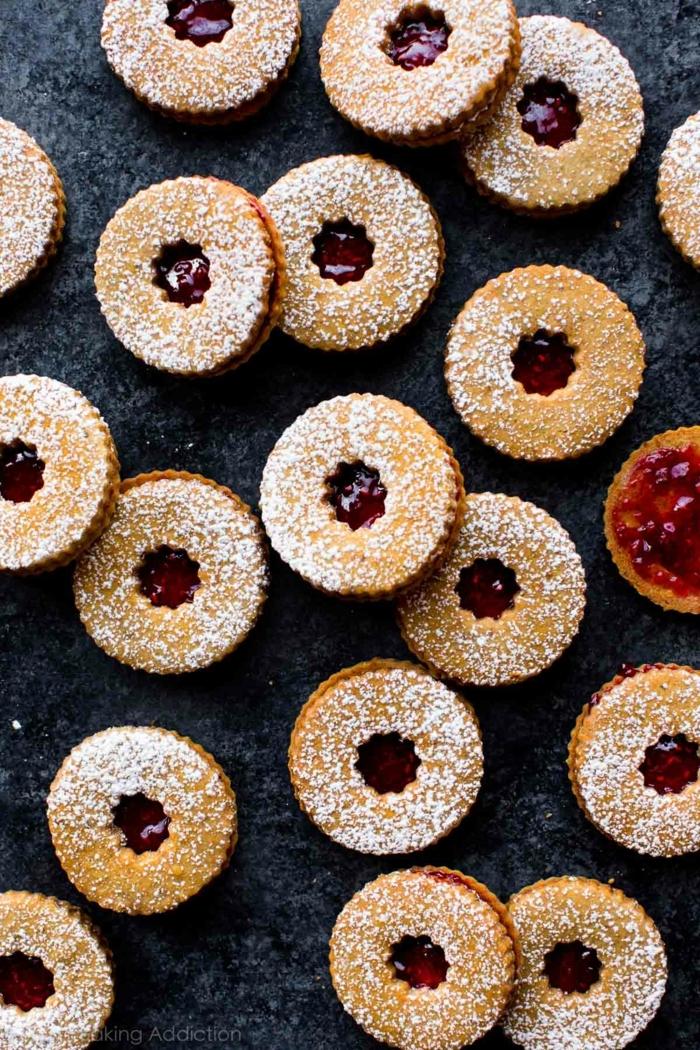 leckere chefkoch weihnachtsplätzchen rund mit himbeermarmelade leckere rezepte für weihnachten zum backen
