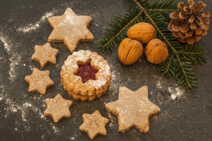 low carb weihnachtsplätzchen mit marmelade in sternen form weihnachtscookies low carb