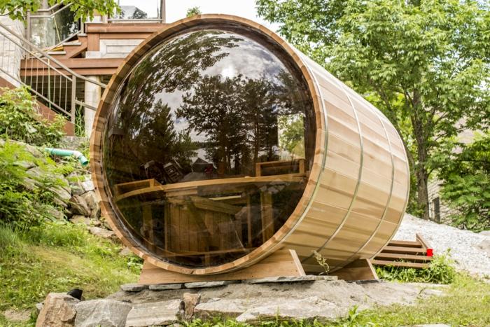 moderne sauna im garten auswahl der richtigen gartensauna