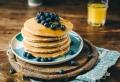 Einfaches Rezept für vegane Pfannkuchen