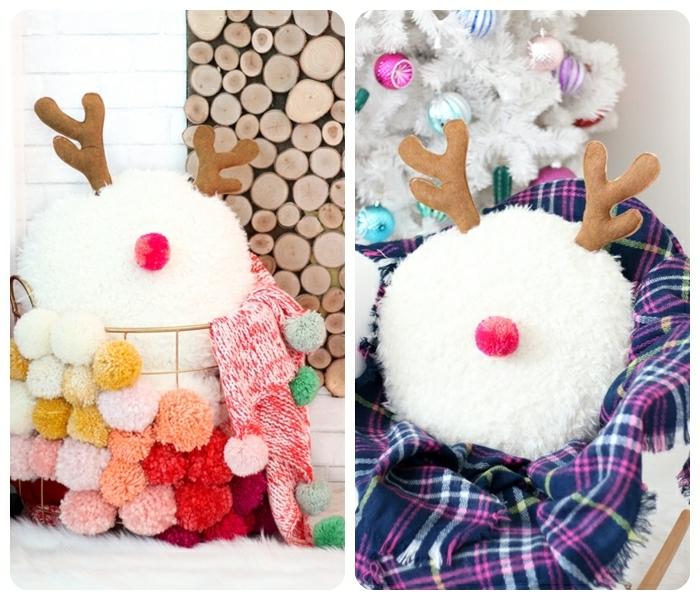weihanchtsgeschenk selber basteln kisen hirsch einfavches tutorial schritt für schritt diy ideen winterdeko geschenke für frauen