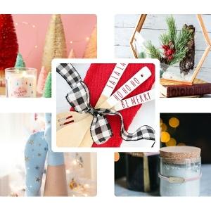 weihanchtsgeschenke selber machen diy ideen bastelideen selbstgemachte geschenke für frauen zumweihnachten