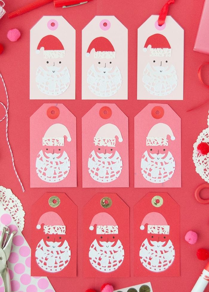 weihnachtskarten basteln kinder bastelideen zu weihanchten karten selber machen diy