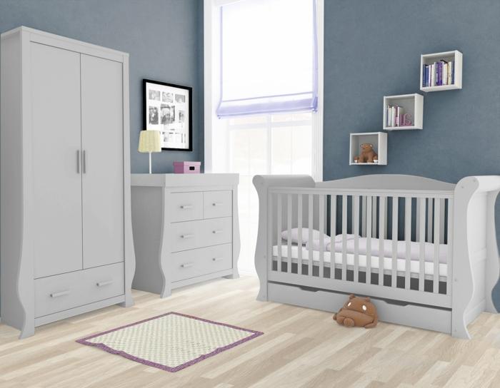 babybett babyzimmer einrichten wickelkommode