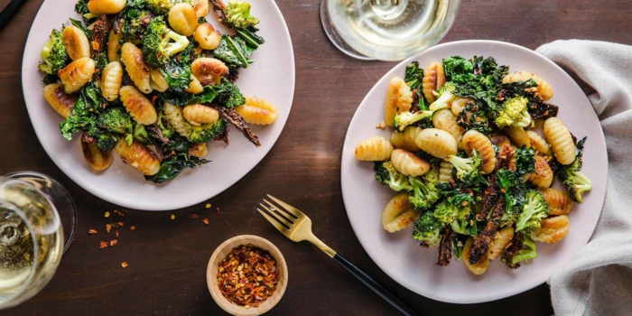 bestes gnocchi rezept toskana gnocchi mit getrockneten tomaten brokoli würzen gnocchi rezept chefkoch zwei teller