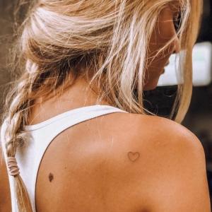 Kleines Herz Tattoo - Die dezente Wahl