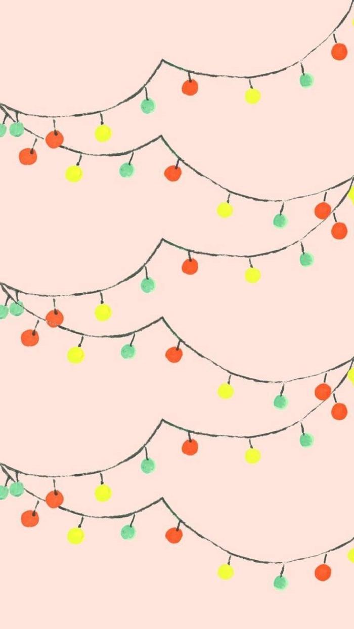 bunte weihnachtslichter pinker hintergrund festliche hintergrundbilder weihnachten kostenlos herunterladen