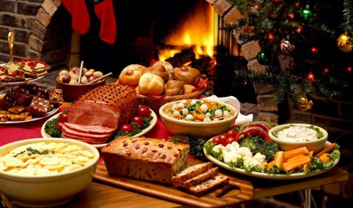 chefkoch weihnachtsessen schnelles weihnachtsmenü schinken gekochtes gemüse weihnachtsbrot