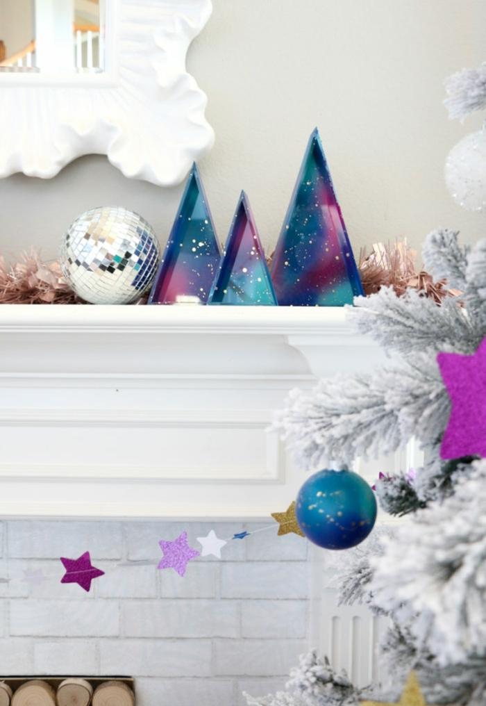 deko ideen weihnachten galaxy weihnachtsdeko weihnachtsparty deko partydeko ideen moderne partydeko winterdeko