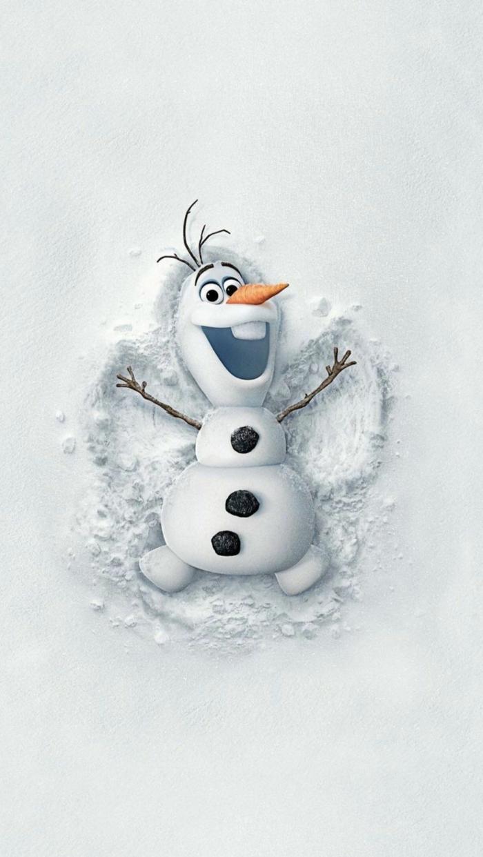 die eiskönigin disney weihnachten schneemann olaf im schnee hintergrunbilder weihnachten kostenlos süße wallpaper