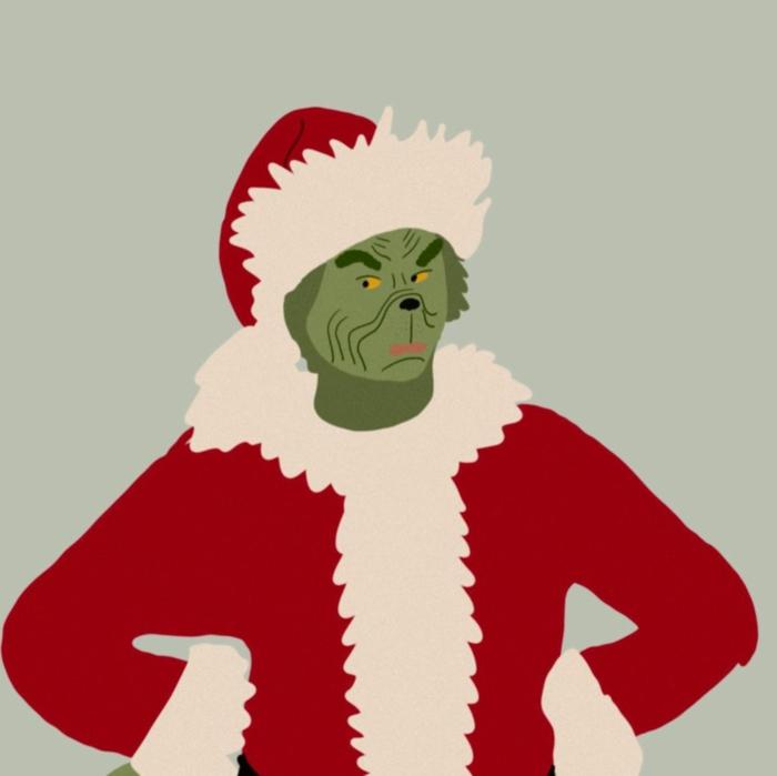 dr seuss wie der grinch weihnachten gestohlen hat grinch im weihnachtskostüm weihnachtsbilder kostenlos als hintergrund handy