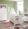eine wuckelkommode gründe wand babybett babyzimmer einrichten