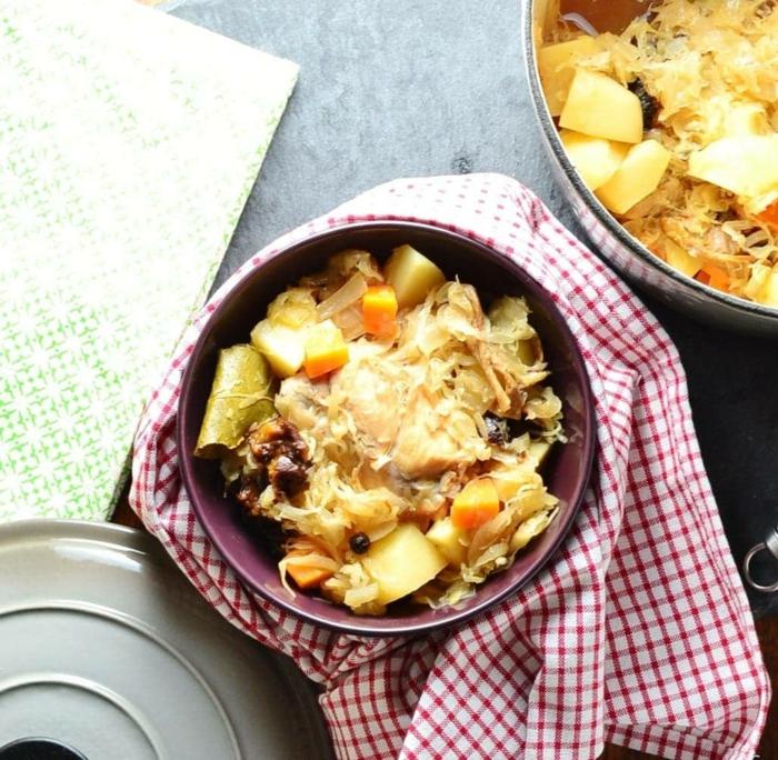 einfache kasserolle mit sauerkraut zubereiten köstliche rezepte ideen gerichte mit hähnchen abendessen ideen