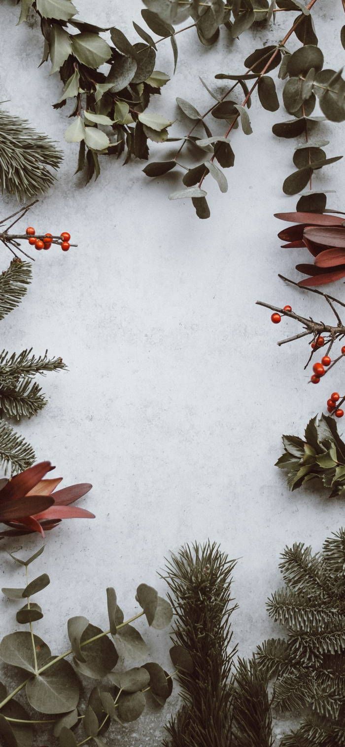 minimalistische weihnachtsbilder kostenlos als hintergrund handy verschiedenes grün für weihnachtsdekoration kreative wallpaper handy