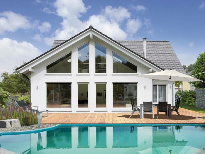 modernes großes haus mit schwimmbad fertighaus modern vor und nachteile