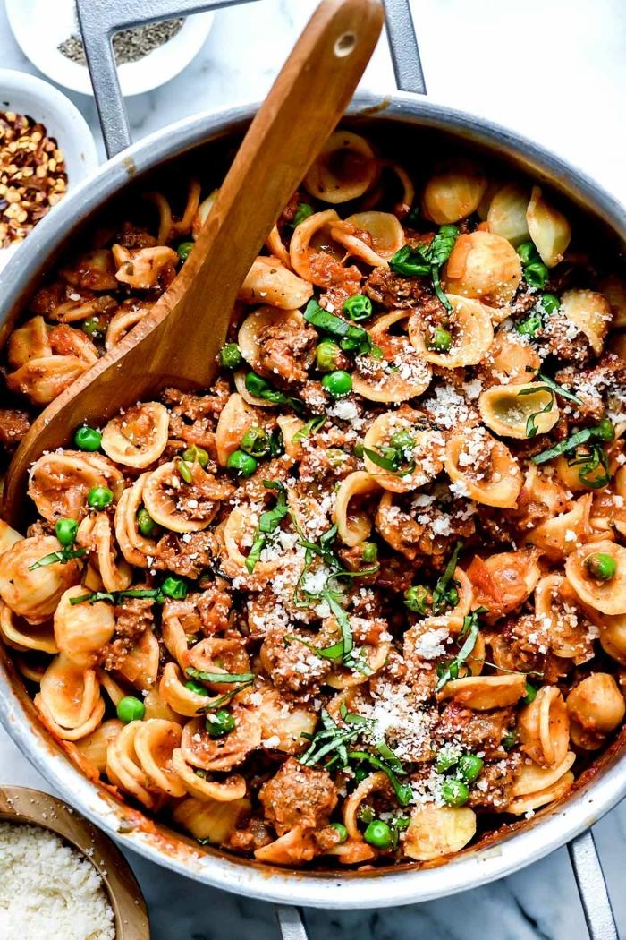 one pot pasta rezepte abendessen selber machen einfache grichte für jeden tag