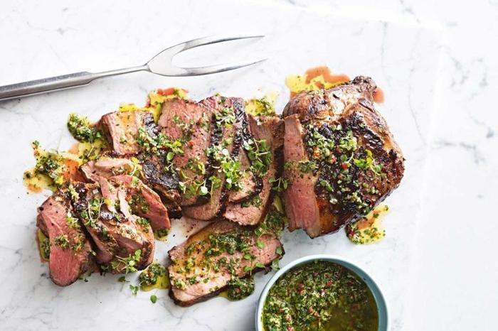 rezepte für weihnachten hauptgang weihnachtsessen rezepte fleisch lammfleisch koriander minz