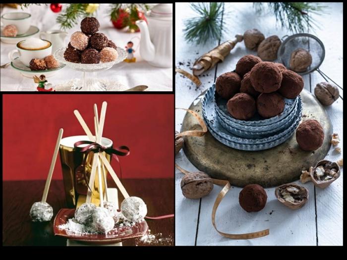 rezepte rumkugeln selber machen saftige rumkugeln zu weihnachten machen heiße schoko