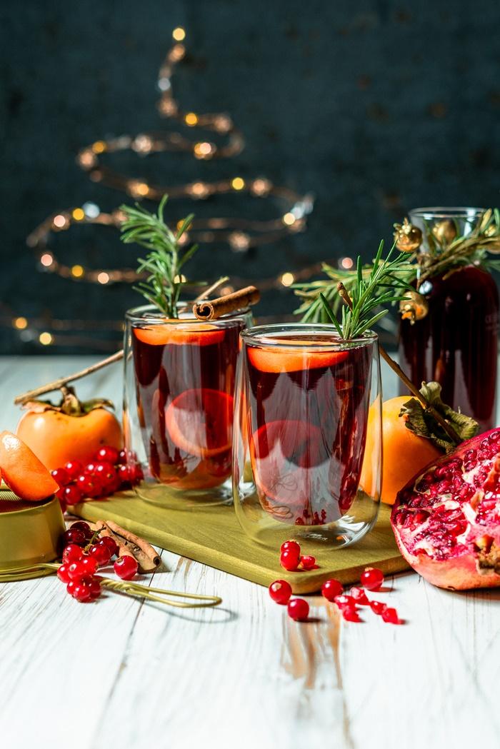 rezepte zu weihnachten glühwein selber machen einfach und schnell