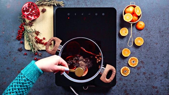 rezepte zu weihnachten roter wein rotwein orangen sternanis zimtstangen