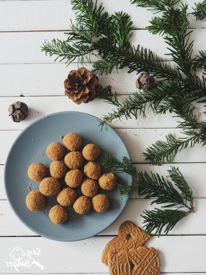 rumkugeln selber machen rezept rumkugeln konfiserie mit marzipan weihnachten