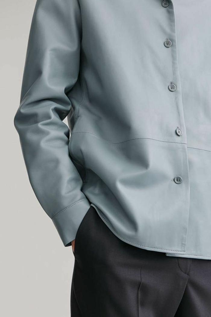 slvester outfit ein hemd aus leder