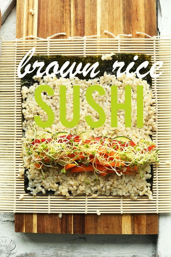sushi reis machen japanische küche schritt für schritt fingefood ideen