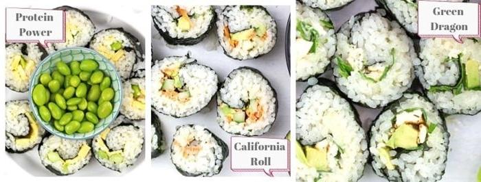 sushi reis selber machen rezepte für kinder vegetarische rezepte partyfood