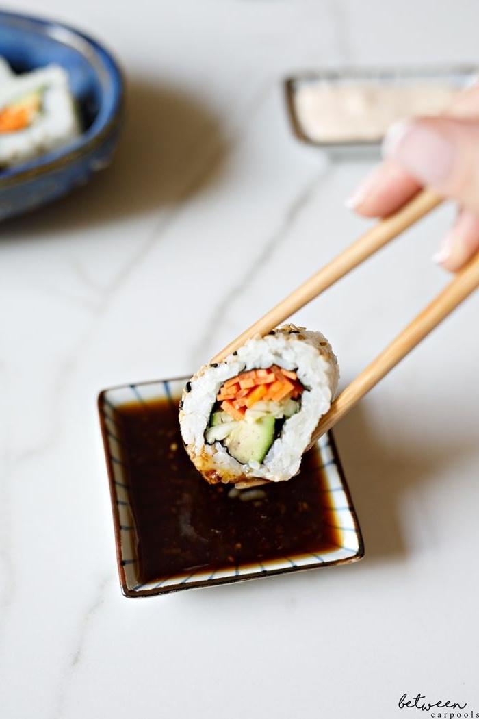 sushi reis selber machen sojasoße soßemit soja sushisoße rezept