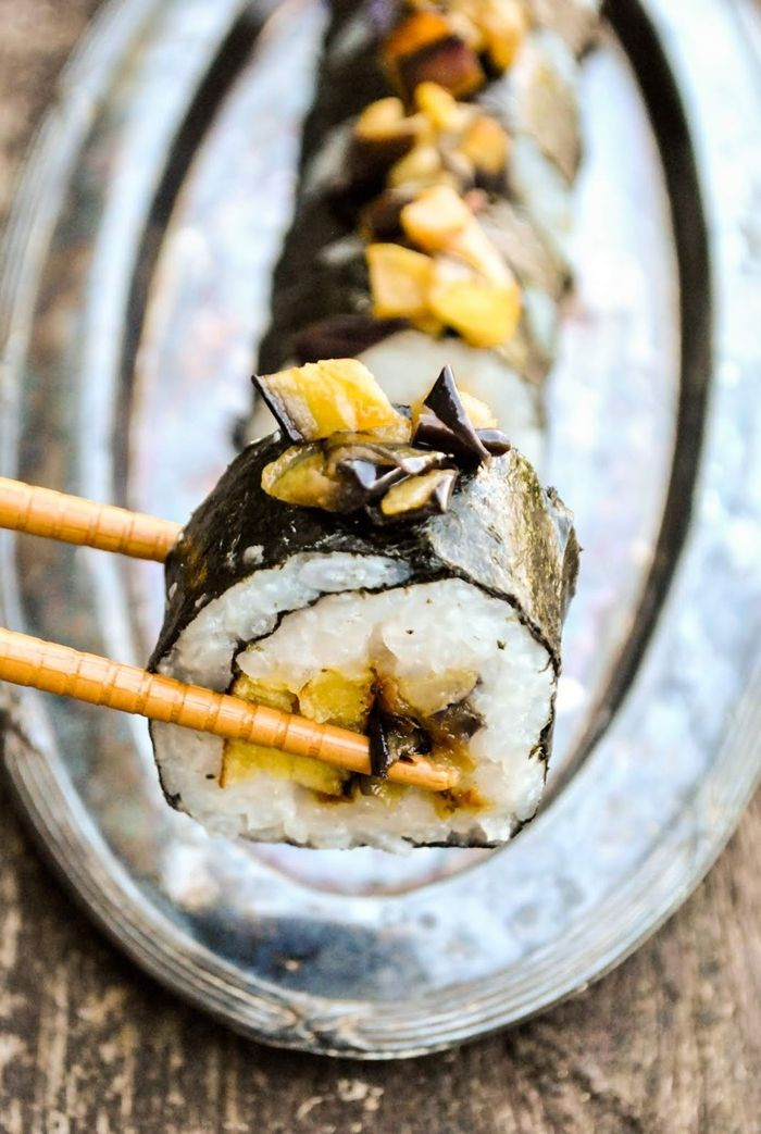 sushi reis zubereiten schritt für schritt leckere rezepte rollen